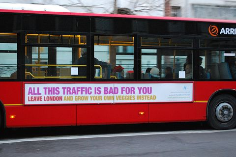 London bus slogan